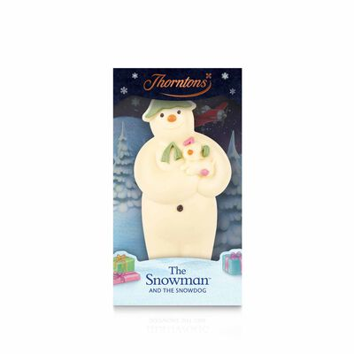 White Chocolate Snowman Model desktop