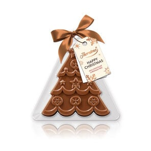 Milk Chocolate Festive Tree Decoration tablet