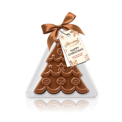 Milk Chocolate Festive Tree Decoration desktop