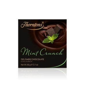 Mint Crunch Dark Chocolate Block tablet