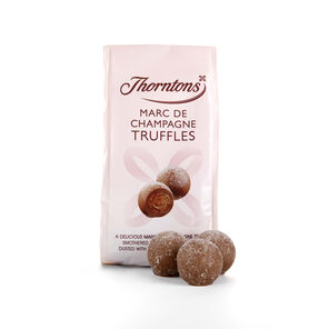 Bag of Marc De Champagne Truffles tablet