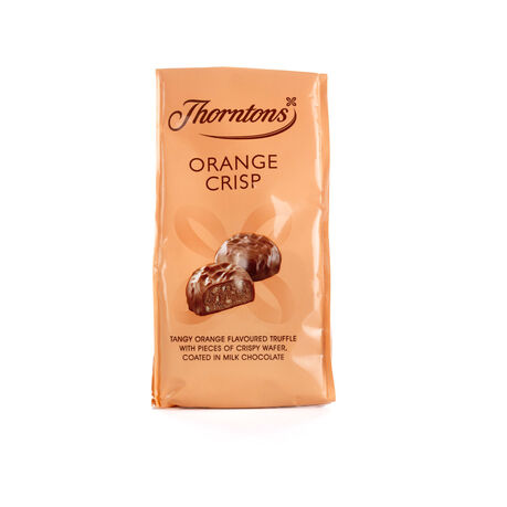 Bag of Orange Crisp Chocolates