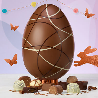 Thorntons personalised gifts luxury chocolate easter eggs continental statement easter egg negle Gallery