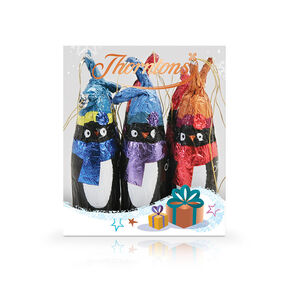 Milk Chocolate Penguin Tree Decoration tablet