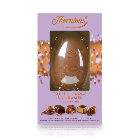 Toffee, Fudge and Caramel Easter Egg