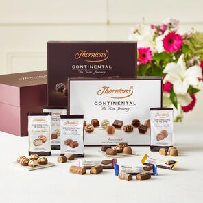 Continental Taste Journey Hamper tablet