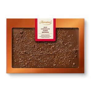 Milk Chocolate Fudge Brownie Block tablet