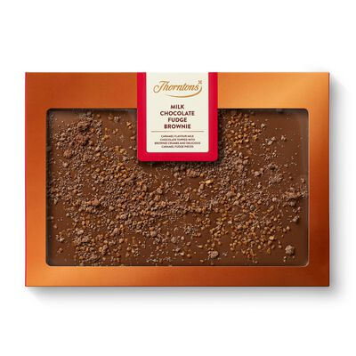 Milk Chocolate Fudge Brownie Block desktop