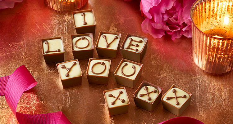 Our luxury chocolate Valentine's gifts are the perfect way to say you care
