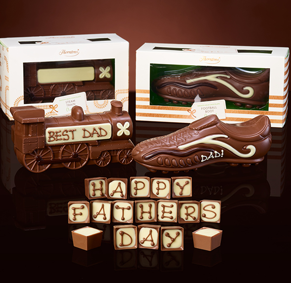 You can personalise chocolate boxes, truffles, hampers and a whole lot more.