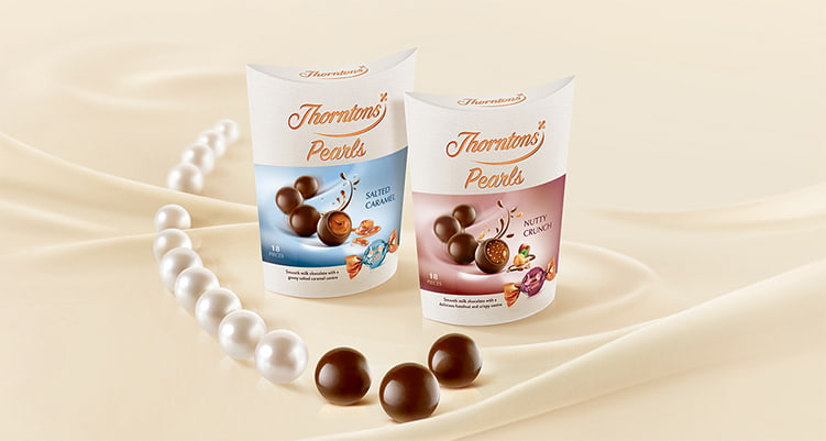 Available Online And In Thorntons Stores Our Pearls Are A Treat Made Especially For