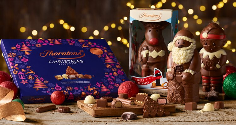 From the Cheeky Elf to the Christmas Selection Box,  melt their heart with a 3 for 2 Christmas gift from Thornton's