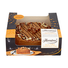 thorntons toffee cake