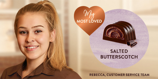 image showing Thorntons Store Manager and their favourite chocolates