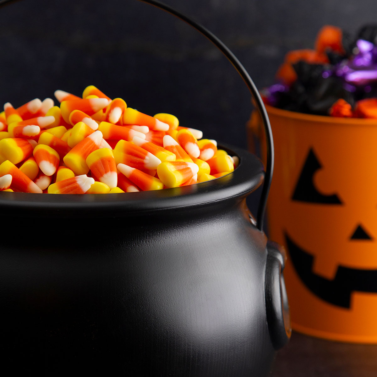 image showing a cauldron full of sweets