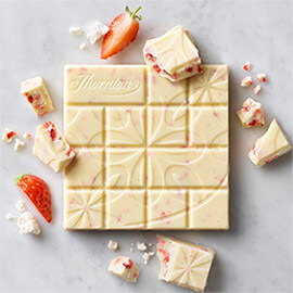 white chocolate image