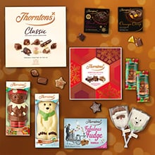 chocolate Christmas hampers