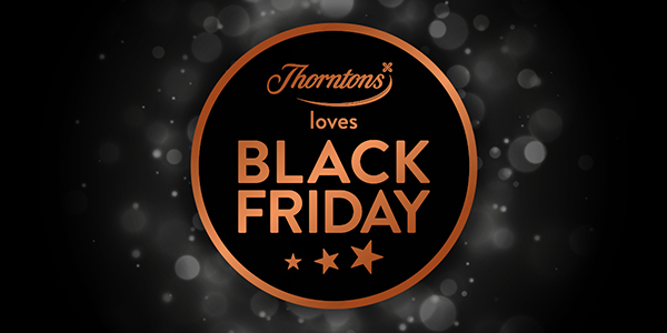 image showing Thorntons Black Friday Promotion