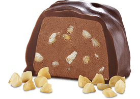 Hazelnut Slice