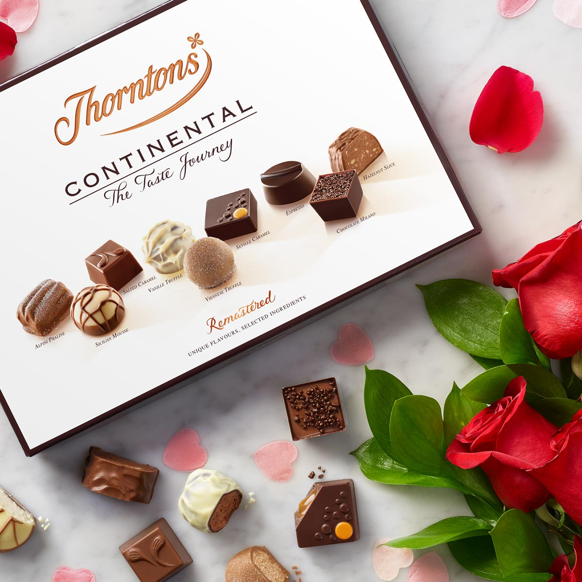 image showing valentines chocolate
