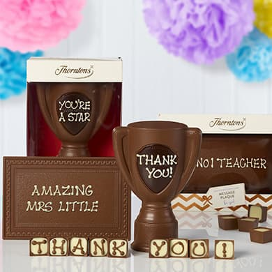 personalised chocolate gifts image
