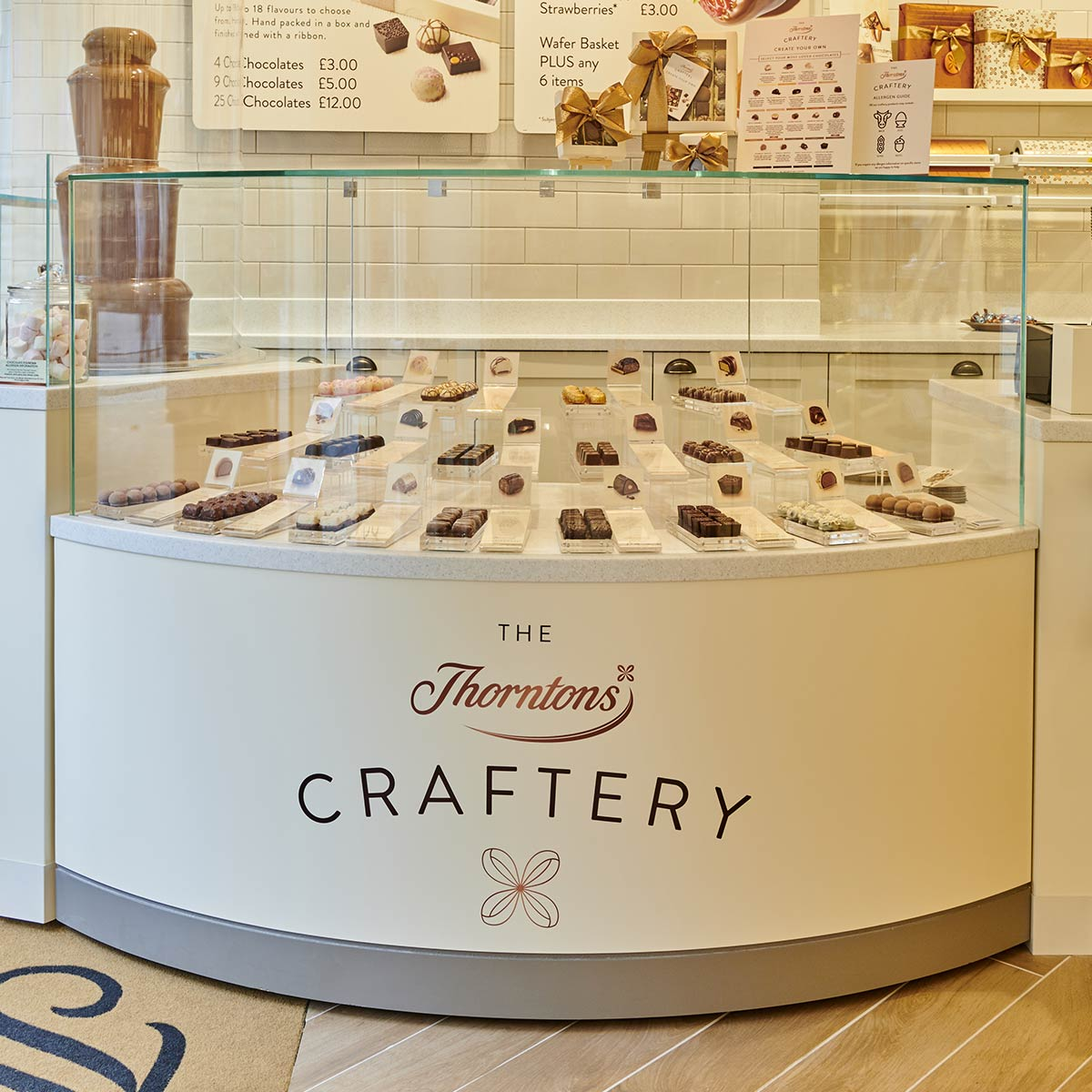 in-store chocolate creations