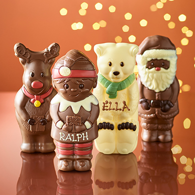 christmas chocolate models image