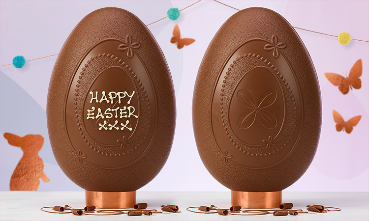 Thorntons personalised gifts luxury chocolate easter eggs 2 for 30 plus free standard delivery negle Image collections