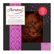 Thorntons Double Chocolate Delight Cake