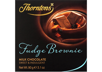 Fudge Brownie Milk Chocolate Block