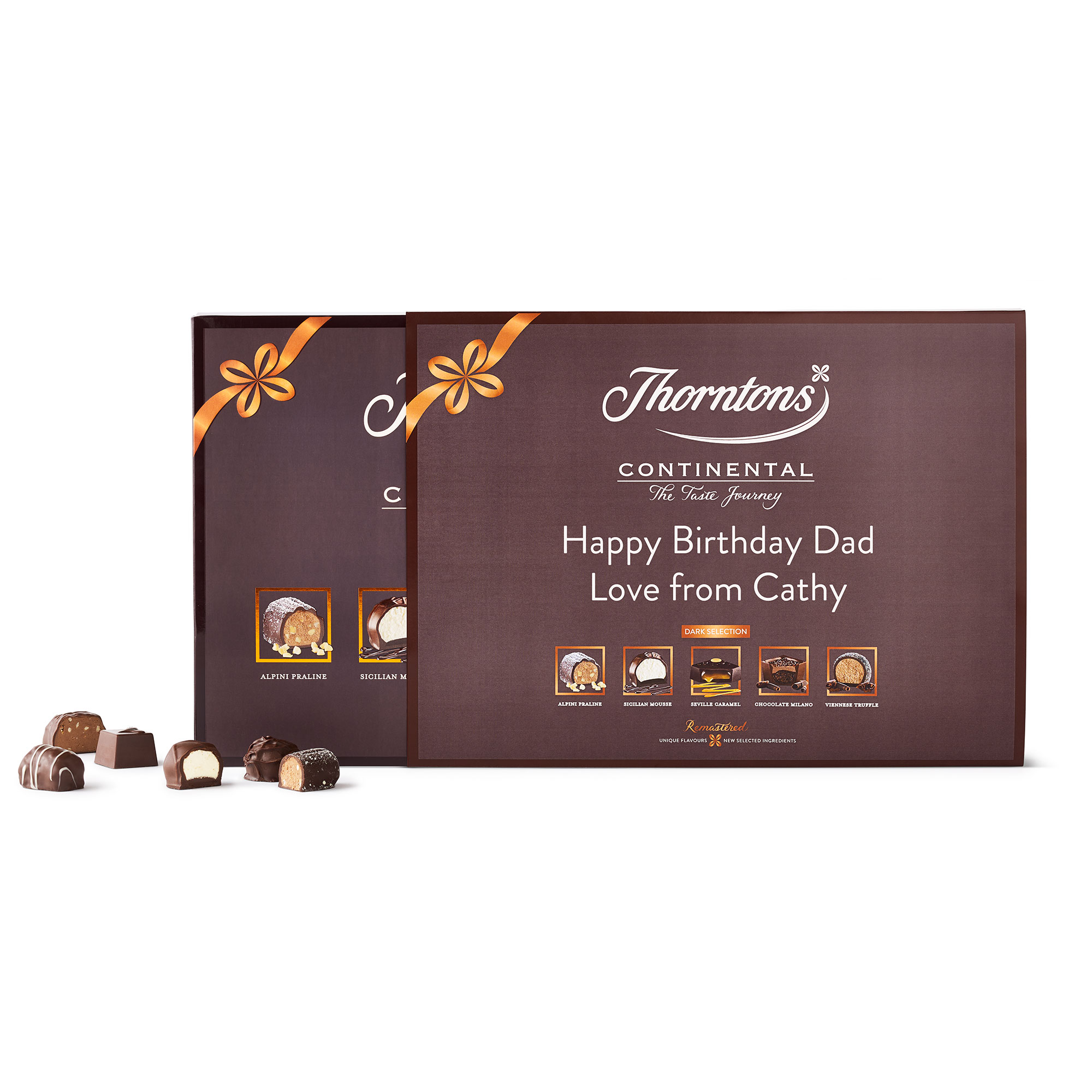Personalised Continental Dark Collection | Personalised Gifts | Thorntons