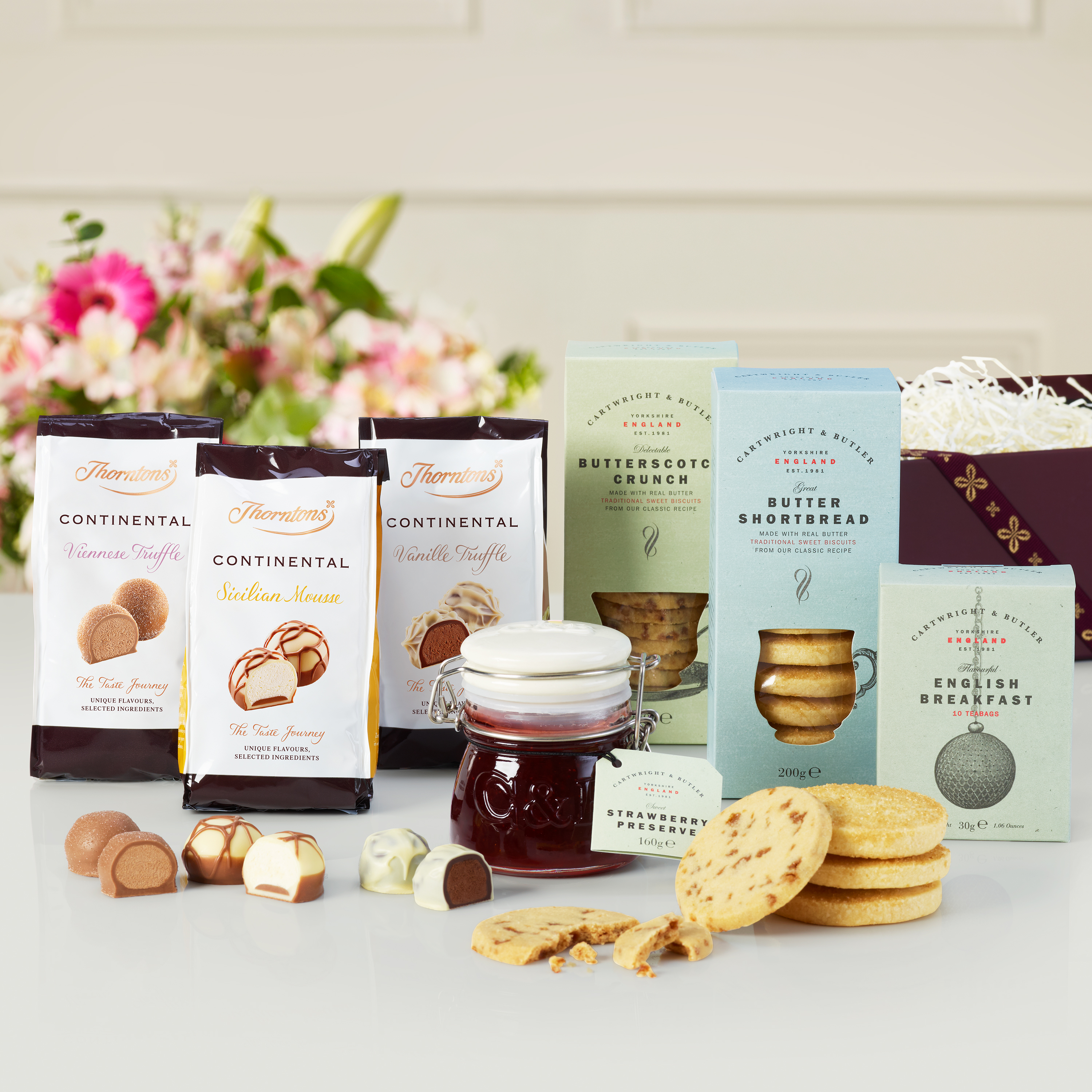 Tea And Chocolate Gift Set Afternoon Tea Hampers Delivered By Post