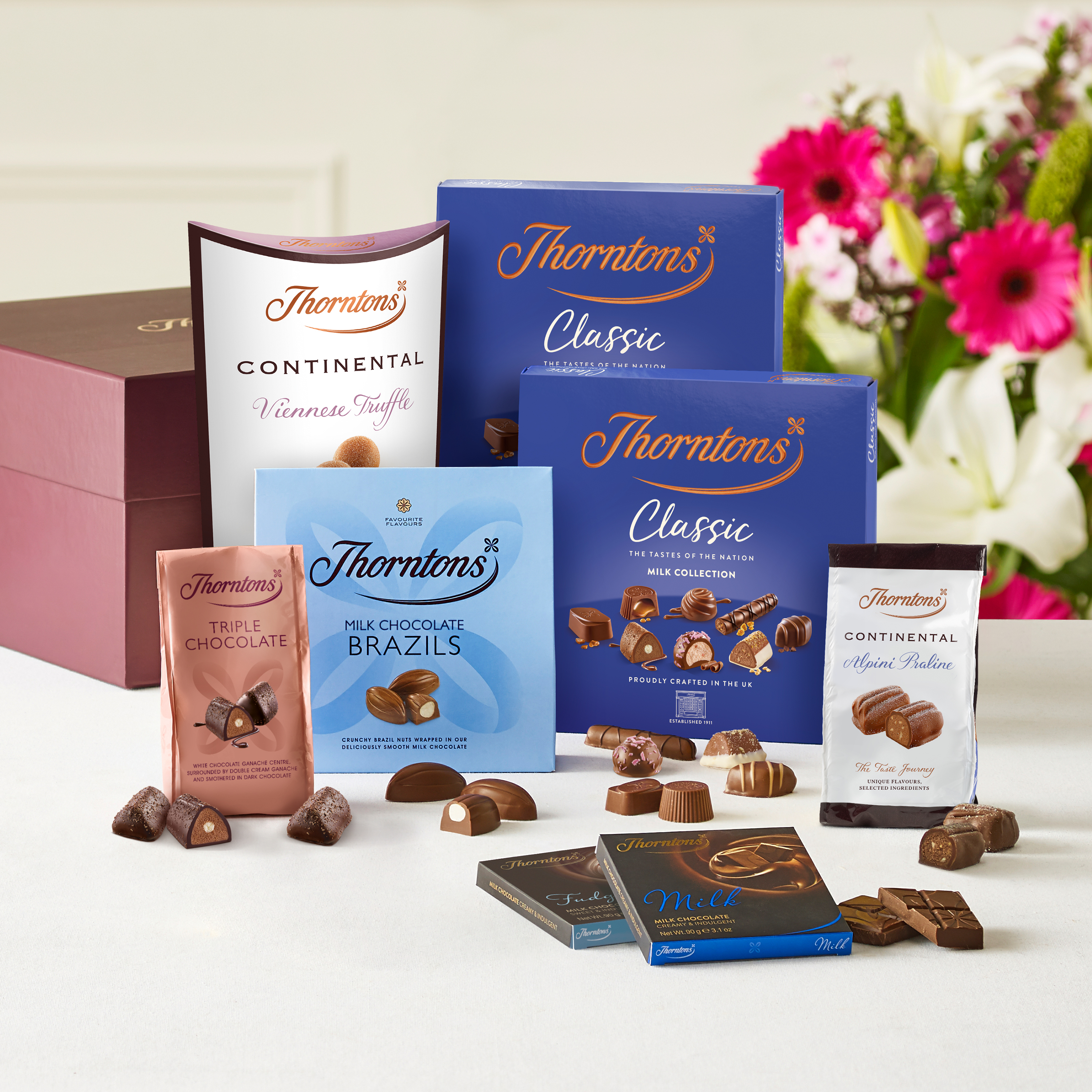 Milk Chocolate Hamper Luxury Chocolate Hampers Gift Sets Delivered By Post