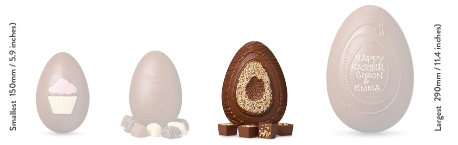 Milk Chocolate, Almond and Hazelnut Easter Egg