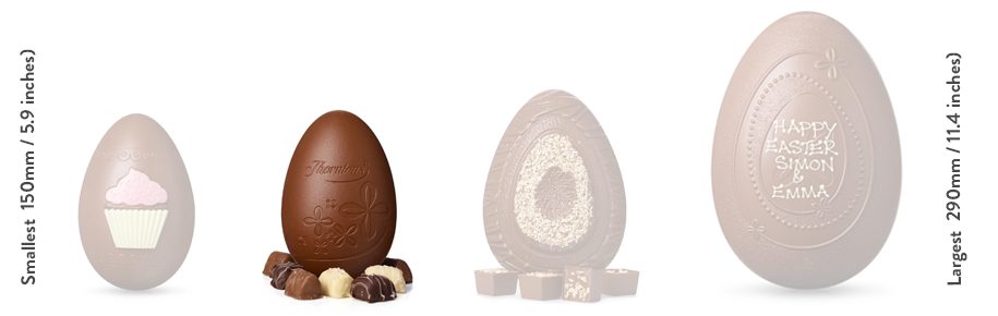 Milk Chocolate Smiles Easter Egg