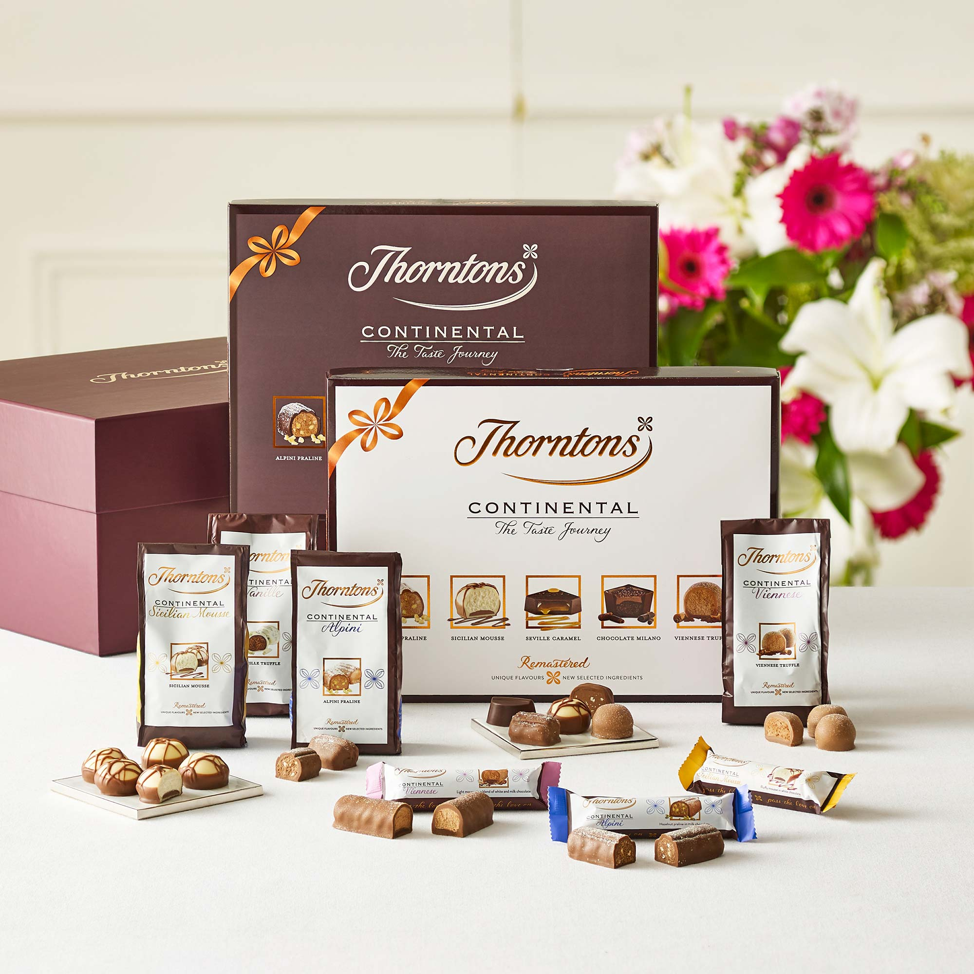 Wedding Gift Hampers Uk: Continental Taste Journey Hamper