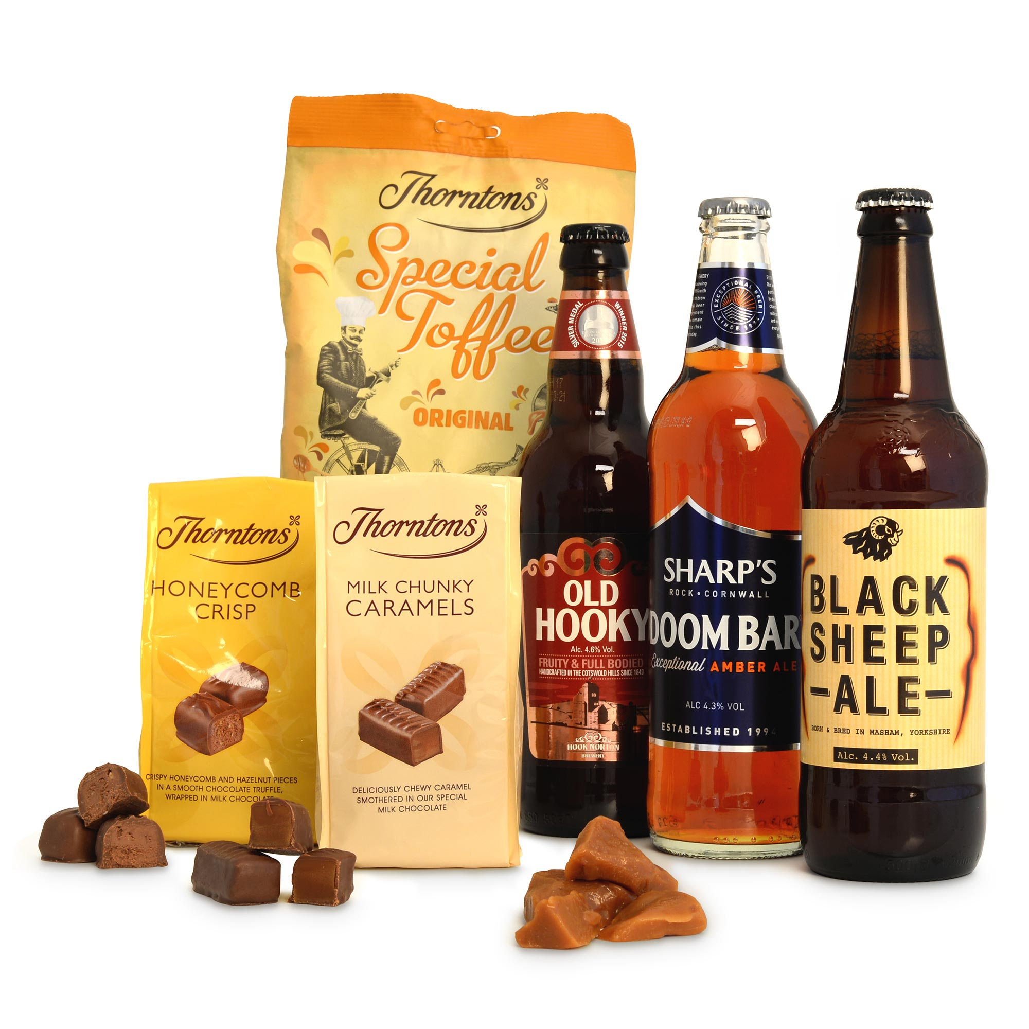 Beer Hamper Alcohol Gifts Thorntons