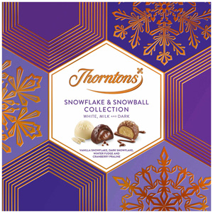 Thorntons Snowflake and Snowball Collection Box