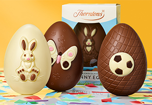 Our kids' Easter eggs will make every bunny happy. From children's Easter eggs to chocolate gifts perfect for tiny hands, you're sure to find something for all your Easter chicks.